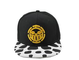 $enCountryForm.capitalKeyWord Canada - Anime One Piece Cosplay Costume Snapback Caps Trafalgar Law Baseball Cap Hip Hop Hat Black Adjustable Hat