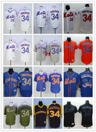 mlb new york mets jerseys baseball 34 noah syndergaard jersey flexbase cool base 2015 world series