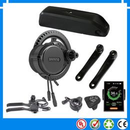 tube drive 2019 - EU US NO TAX New BBS02 48V 750W Bafang mid drive electric motor kit with 52V 13.6Ah Li-ion down tube ebike battery with