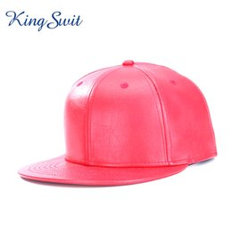 Flat Cap Men Canada - KingSwit 2018 Cool Pure Color Baseball Caps For Men  and Women c404fa57218