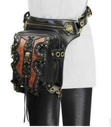 $enCountryForm.capitalKeyWord UK - women Steam punk Holster Protected Purse Shoulder carteras mujer thigh Motor leg bag belt bag men package Outlaw Pack