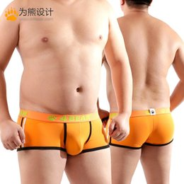 77d03a86d85 New Men s High Quality Plus Size Shorts Bear Claw Paw Underwear Sexy Boxers  Designed For Gay Bear Free Shipping M L XL XXL