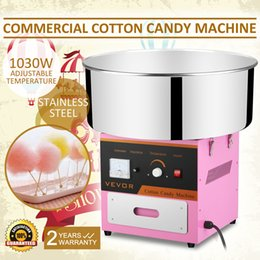COTTON CANDY MACHINE FLOSS MAKER Brand New Commercial Electric Cotton Candy Machine Floss Maker Pink 110 220v Free shipping Hot sales from electric dough manufacturers