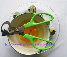 $enCountryForm.capitalKeyWord Canada - 100pcs Quail Scissors Egg Cutter Eggs Opener Quail eggs scissor Eggshell Cracker Stainless Steel Blade Kitchen Tools
