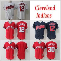 ea9a93d407d greece stitched mlb jersey cleveland indians mens 2017 mlb baseball jerseys  12 francisco lindor 30 joe
