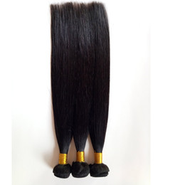 Discount peruvian human hair china - Best Selling human hair extension Brazillian Peruvian Hair 8-26inch natural colour Straight Soft and smooth China suppli