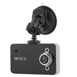 Car vehiCle dash Camera online shopping - K6000 quot Full HD P TFT SCREEN Camera Car DVR Camera Recorder Dash Cam Camcorder Vehicle With G sensor Registrator with Retail Box