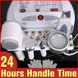 $enCountryForm.capitalKeyWord Canada - Pro Microcurrent Skin Lifting Microdermabrasion Machine BIO Gloves Ultrasonic Diamond Dermabrasion Cold Hot Hammer Photon Scrubber Whitening
