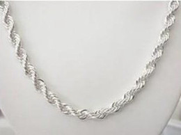 4mm snake chains Canada - N067 new popular 2016 hot sale promotion solid 925 sterling silver jewelry 4mm 1pc necklace ,new fine 925 16-24inch chain necklace for women