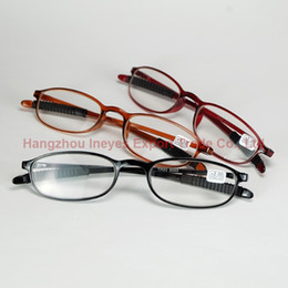 EyEglassEs shops online shopping - Glasses Shop New Arrival High Elasticity Reading Glasses Far sightedness Small Eyeglasses Frame Very Hight Colors
