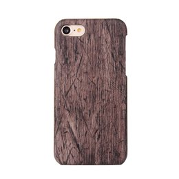 top samsung mobile phone Canada - wholesale Top Quality Hard Protector Cover Case PC Wood Phone Case for iphone 6 6plus iphone 7 7plus Mobile Phone Case