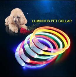 Dog Training Collar LED Outdoor Luminous Cut USB Charge Pet Dog Collars  Light Adjustable LED Flashing Dog Collar CCA6929 50pcs Inexpensive Outdoor  Lighting ...