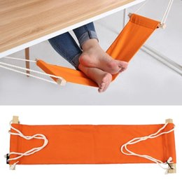 study indoor office foot rest stand desk feet hammock easy to disassemble for home library 655155cm