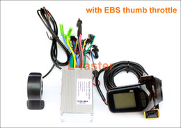 $enCountryForm.capitalKeyWord NZ - L-faster Electric Scooter Brushless Controller With S886 Thumb Throttle LCD Panel Electric Bike Hub Motor Controller LCD Thumb