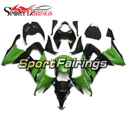 cowl fairing Australia - Full Fairings For Kawasaki ZX10R 08 09 10 Green Black Injection ABS Plastic Motorcycle Bodywork Panels Kits Hulls New Cowls