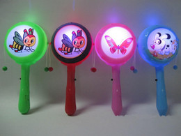Discount clapper toy - Light emitting colorful rattle rattle rattle rattle hot flash infant