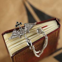 $enCountryForm.capitalKeyWord Canada - Korean wings angel wings brooch brooch cross tassel chain collar pin pin small suit men and women