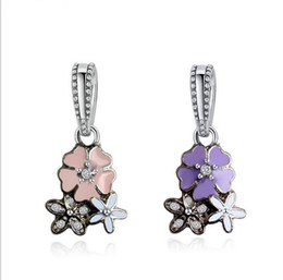 17e45626a ... new zealand 20pcs crystal drop dangle pendants fit charms bracelet  wholesale designs for girls mom dad ebay 4 photos pandora flower ...