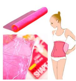 Slimmer Belt Weight Loss Canada - 2000pcs High Quality Sauna Slimming Belt Waist Wrap Shaper Burn Fat Cellulite Belly Wraper Waist Shaper Weight Loss Sauna Waist Belt