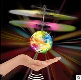 Air helicopter toy online shopping - 9 Styles Air RC Emoji Flying Ball Drone Helicopter Ball Built in Shinning LED Lighting Toy Flying Helicopter Party Favor CCA7959