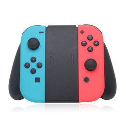 Discount game joy - Handle Grip Handgrip Holder For Switch NS 2 Joy Con Controller Grips Gamepad Game Support Stand OTH717