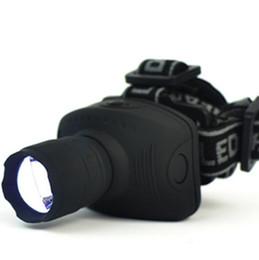 600 Люмен светодиодные фары фронтальный фонарь масштабируемые головы Факел головного света для рыбалки кемпинг туризм бесплатная доставка