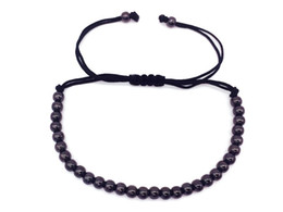 China High Quality Brand Anil Arjandas 4mm Copper Round Beads Macrame Braided Men Bracelets For Men Women Jewelry Gift Gold cheap silver braided rope bracelets suppliers