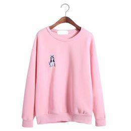 Shirt Poncho Australia - Wholesale- 2017 express sweater women poncho autumn new jumper fleece printed sweaters shirt women's pullover clothing vestidos LBD5662