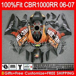 color honda repsol 2019 - Injection Body For HONDA CBR 1000RR Matte Repsol CBR 1000 RR 06 07 78NO64 100% Fit CBR1000RR 06 07 Bodywork CBR1000 RR 2