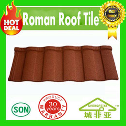 Building Material Hot Selling Colorful Stone Coated Metal Roofing Tiles