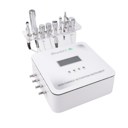 2017 Korea Newest 7 in 1 Skin Energy Activation Instrument Micro Current Facial Rf Machine with CE DHL Free Shipping on Sale