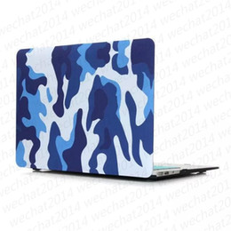 Discount macbook pro 13 matte case - 100PCS Camouflage Rubberized Frosted Matte Hard Shell Laptop Cases Full Body Case Cover for Apple Macbook Air Pro 11&#03