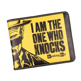 Broken Bad Canada - Classic American Cartoon Movie Wallet Breaking Bad Funny Wallet Men's Purses With Zipper Coin Pocket ID Card Holder Student Wallet Wholesale