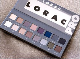 lorac pro 16 colors Canada - New Makeup LORAC Pro Palette And Pro Palette 2 With 16 Colors Eyeshadow Free DHL Shipping