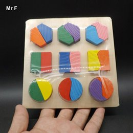 Kids Block Games Australia - Wooden Blocks Toys Geometry Pattern Children's Educational Toy For Baby Boy And Girl Gift Teaching Toy Fun Gift Game Kid