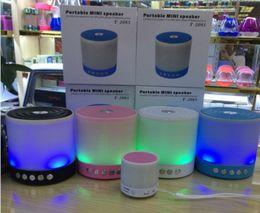 Light seaLs online shopping - Dazzle Night LED Light Speakers Big Size Wireless Bluetooth Speaker Portable Stereo Subwoofer Loudspeaker TF USB FM Handfree Call MIC T