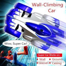 $enCountryForm.capitalKeyWord Canada - 2015 hot sale wall climbing car wireless remote control car glass walls climbing Electric toy car with flashing light A013050