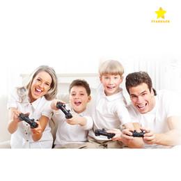 Venta al por mayor de Controlador inalámbrico de juegos con cable Bluetooth para PlayStation 3 PS3 Controlador de juegos PS4 Gamepad Joystick para juegos de video con Android Retail Box