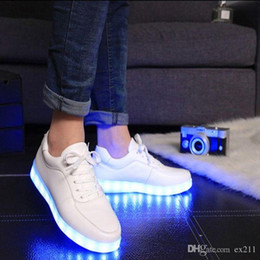 5ff5598be8b 8 Photos China 2015 Women Colorful glowing shoes with lights up led  luminous shoes a new simulation sole