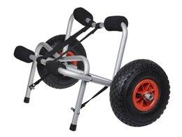 Новый каяк-каноэ-перевозчик для перевозки лодок Долли-трейлер Tote Trolley Transport Cart Wheel