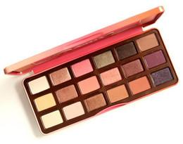 $enCountryForm.capitalKeyWord UK - HOT SALES! NEW Sweet Peach 18 color Eye Shadow Makeup Eyeshadow Palette + dhl free shipping
