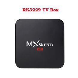 China MXQ PRO 4K Android 7.1 TV Box RK3229 1G 8G Arabic IPTV Media Players V88 suppliers