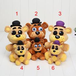 Discount fredbear plush - 14cm   25cm New Five Nights At Freddy's 4 FNAF Nightmare Fredbear Plush Golden Freddy Plush Fazbear Doll Plush Toys