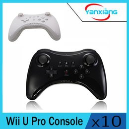 online shopping 10pcs Classic Dual Analog Bluetooth Wireless Remote Controller USB U Pro Game Gaming Gamepad for for Nintendo Wii White Black YX Wuii