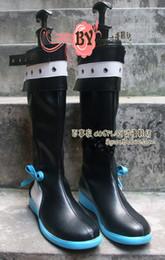 Vocaloid christmas costumes online shopping - Vocaloid YAYIGONGYU Cosplay Boots shoes shoe boot NC447 Halloween Christmas