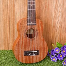 """Mahogany Musical Instruments Canada - 21-7 21"""" Ukulele Mahogany Acoustic guitar Rosewood Fretboard 4-strings guitarra musical instruments Wholesale"""