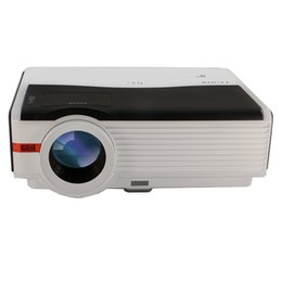 Proyector Wifi Australia - Wholesale- CAIWEI DVB-T2 WIFI LED Projector 5000 Lumens 1280*800 For Home Cinema Game Business Education Projector HD 1080P LCD Proyector
