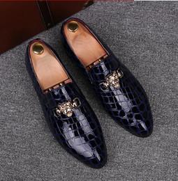 $enCountryForm.capitalKeyWord Canada - Italian Fashion Men Dress Shoes Genuine Leather Slip On Man Formal Suit Footwear with size:39-44
