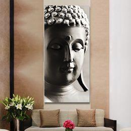 $enCountryForm.capitalKeyWord Canada - Hanging painting buddha art canvas Wall art buddha Picture landscape Modern living room Decorative Unframed (No Frame)