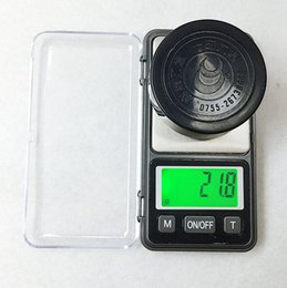 electronic pocket scale pcs 2018 - by dhl fedex 100 pcs  lot 500g 0.1 Pocket Electronic Scales Digital LCD display Jewelry Balance Weight Scale